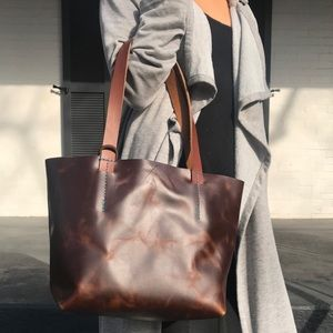Tribe Kelley Leather Tote
